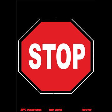 Señal: STOP