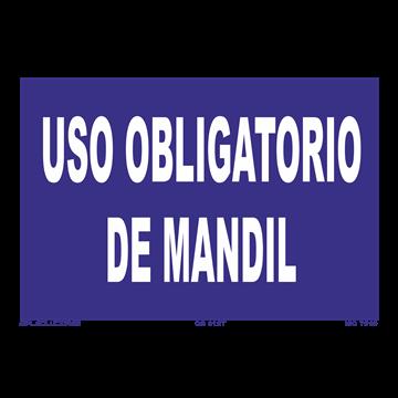 Señal: Uso obligatorio de mandil