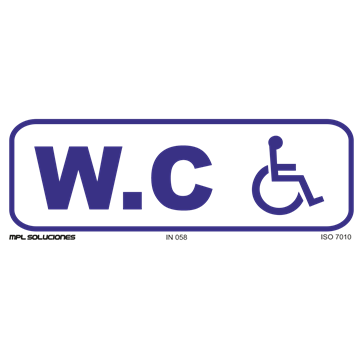 W.C. Minusvalidos