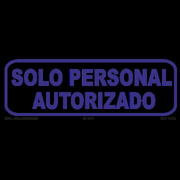 SOLO Perosnal Autorizado