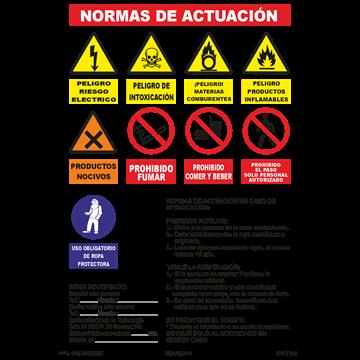 Normas de actuación (Modelo2)