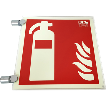 Señal adhesiva sustancias comburentes.