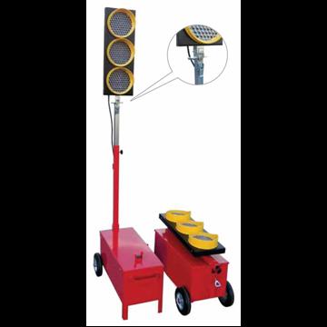 Pareja Semáforos Desmontables LED - Mod. B