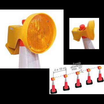 5 Secuenciales LED Infrarrojos para Cono