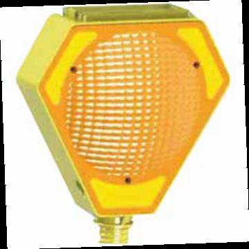 Baliza Solar Amarilla para Cono