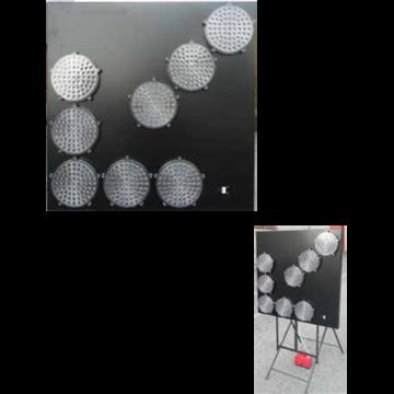 Paneles direccionales luminosos de señalización en carretera