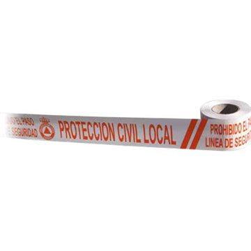Cinta de Señalización Protección Civil