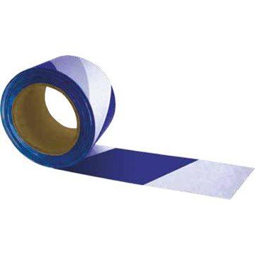 Cinta de Señalización Bicolor - Galga 300. - Blanco/Azul
