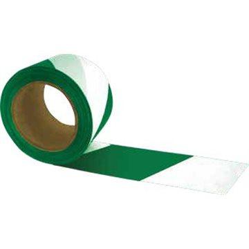 Cinta de Señalización Bicolor - Galga 300. - Blanco/Verde