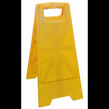 Caballete Plegable Amarillo Señalización