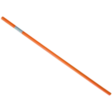 Tubos PVC 1m. Naranja Fluor con Reflectante