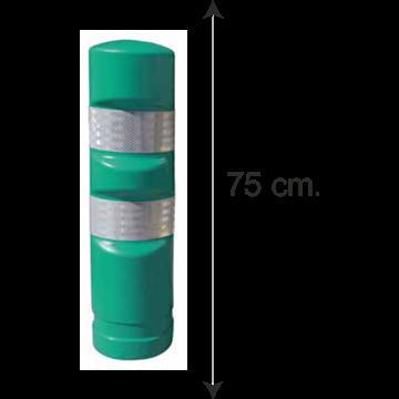Hito Polietileno Reemplazable H75 - Verde