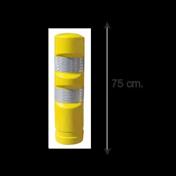 Hito Polietileno Fijo H75 - Amarillo