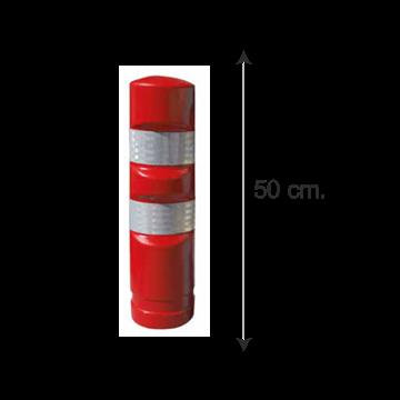 Hito Polietileno Fijo H50 - Rojo