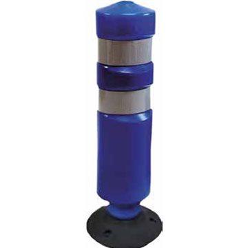 Hito basculante polietileno. Azul