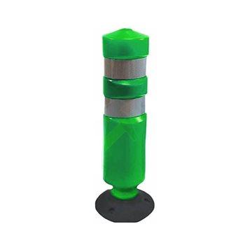 Hito basculante polietileno. Verde