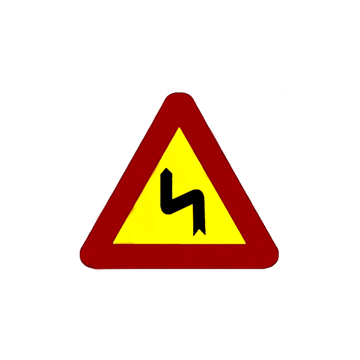 Curvas peligrosas izquierda