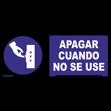Señal: Uso obligatorio de bata