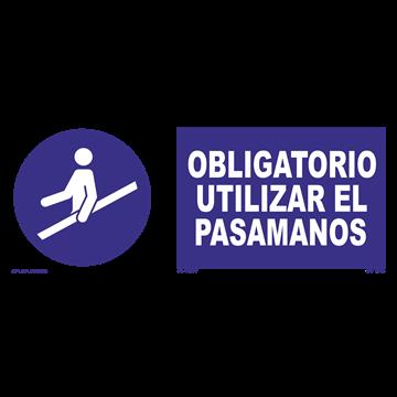 Señal: Obligatorio el uso de protector de mola