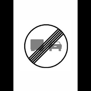 Fin de limitaciones de adelantamiento para camiones