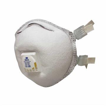 3M Mascarilla desechable autofiltrante soldadura y ozono FFP2 R D con válvula  (CAJA 10 UDS)
