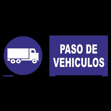Señal: Paso de vehiculos