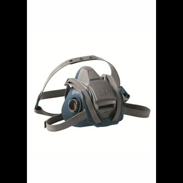 Media máscara reutilizable 3M 6500 silicona con sistema QL