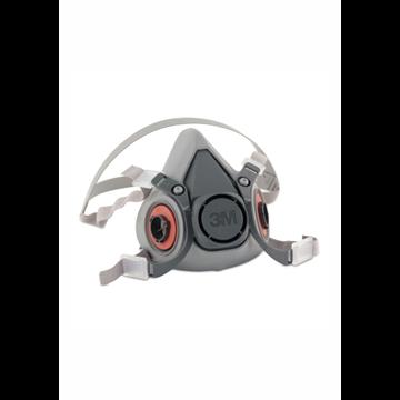 Media máscara reutilizable 3M 6000 silicona