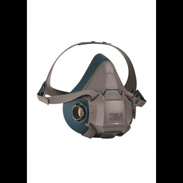 Media máscara reutilizable 3M 6500 silicona
