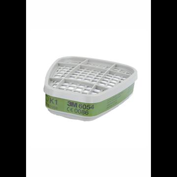 6054 Filtro para vapores orgánicos A1. (PVP 1 UNIDAD)