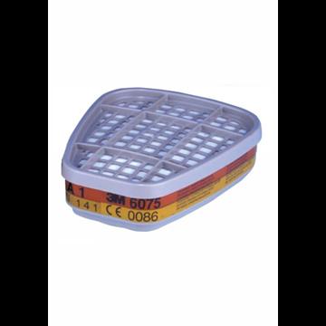 6075 A1 Filtro para vapores orgánicos y formaldehído. (PVP 1 UNIDAD)