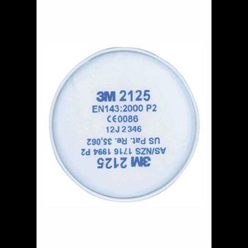 2125 Filtros para partículas P2R. (PVP 1 UNIDAD)
