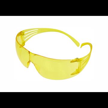 Secure Fit 200 Gafas PC-amarilla AR y AE