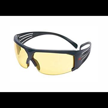 Secure Fit 600 Gafas Anti-empañamiento, ocular ambar