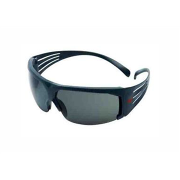 Secure Fit 600 Gafas Antirayadura, ocular gris polarizado