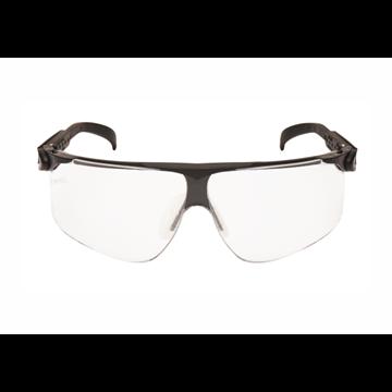 Gafas montura negra PC incolora DX