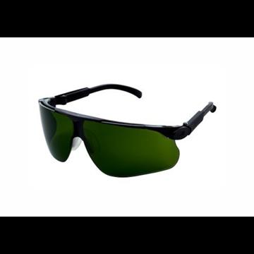 Gafas montura negra soldadura PC tono 3 DX