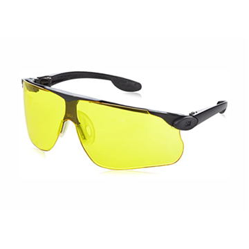 BALLISTIC Gafas montura negra PC amarilla DX