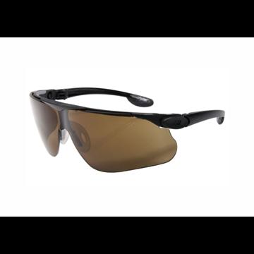 BALLISTIC Gafas montura negra PC bronce DX