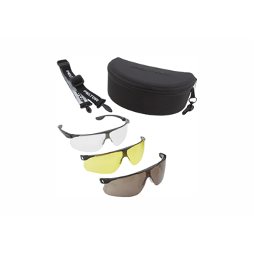 BALLISTIC PACK Gafas PC incolora/bronce/amarilla DX con estuche