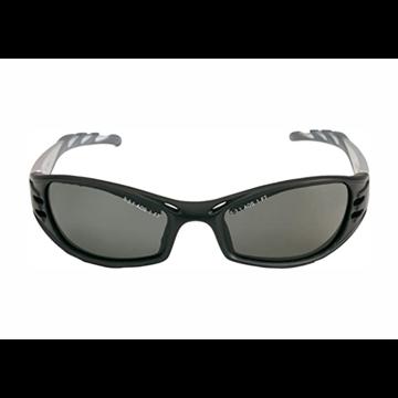 FUEL Gafas montura negra/plata PC gris polarizadas AR y AE
