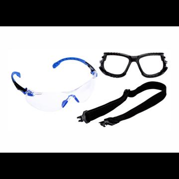 Kit Gafas Solus 1000 negro/azul PC incolora.