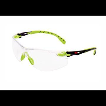 Gafas Solus 1000 negro/verde PC incolora