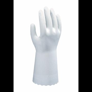 Guante sin soporte con revestimiento de PVC de 0,33 mm de espesor