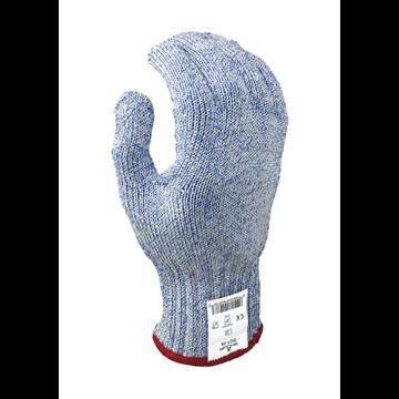 Guante de protección contra cortes, fibra de vidrio / HPPE / polietileno, sin recubrimiento, Calibre 7