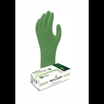 DISPENSADOR Nitrilo desechable biodegradable con tecnología EBT, sin polvo