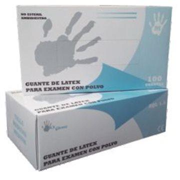 Guante de Látex Con Polvo Max Gloves 5,2 grs - 100 unid