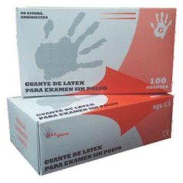 Guante de Látex Sin Polvo Max Gloves 5,7 grs - 100 unid