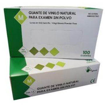 Guante de Vinilo Sin Polvo Max Gloves 4,5 grs - 100 unid