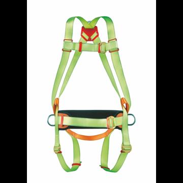 Arnés anclaje dorsal profesional con cinturón de posicion anti-caídas.